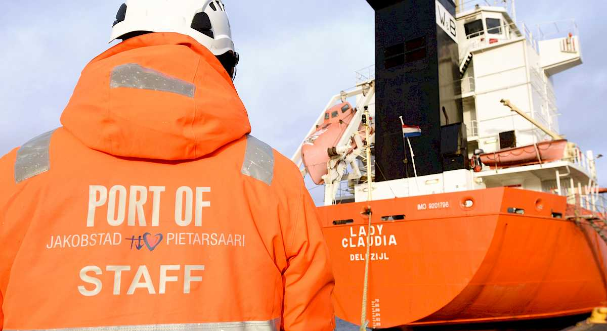 Services of the Port of Pietarsaari continues as normal